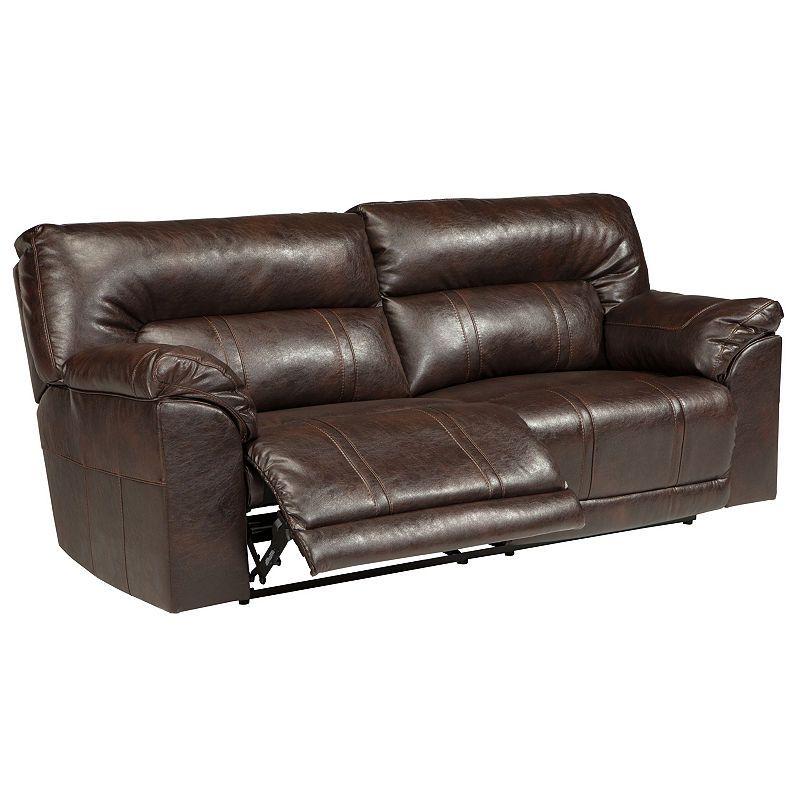 Signature Design By Ashley Barrettsville 2 Seat Reclining Sofa Power Reclining Loveseat