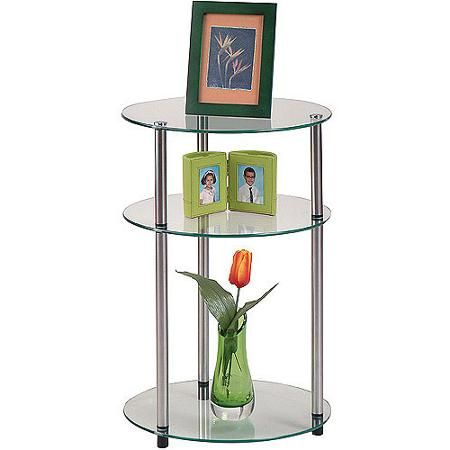 Home Convenience Concepts Glass Side Tables Side Table