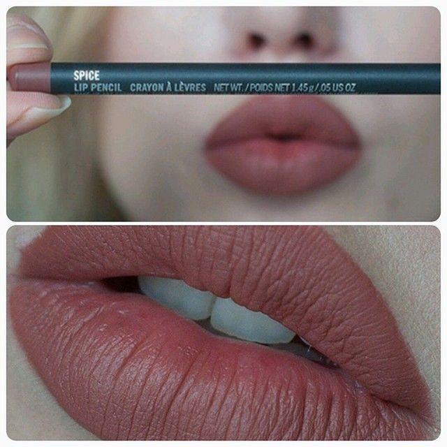 Mac Spice Kylie Jenner S Favorite Lip Liner She Uses On Her