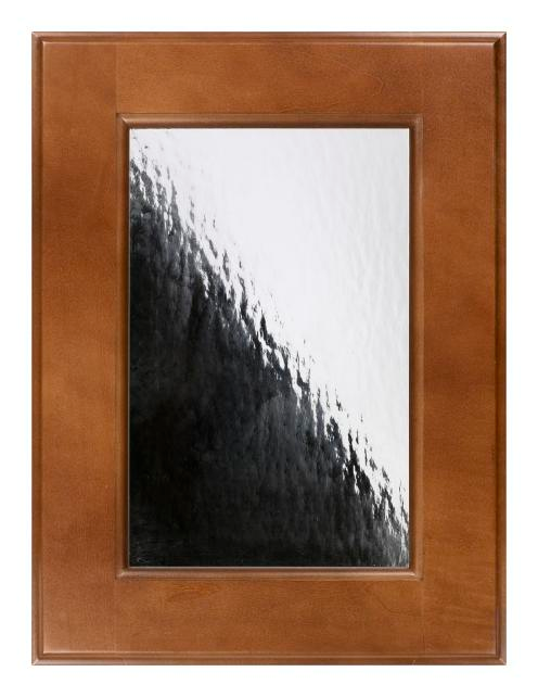 Rough Rolled Glass - Custom Glass Door
