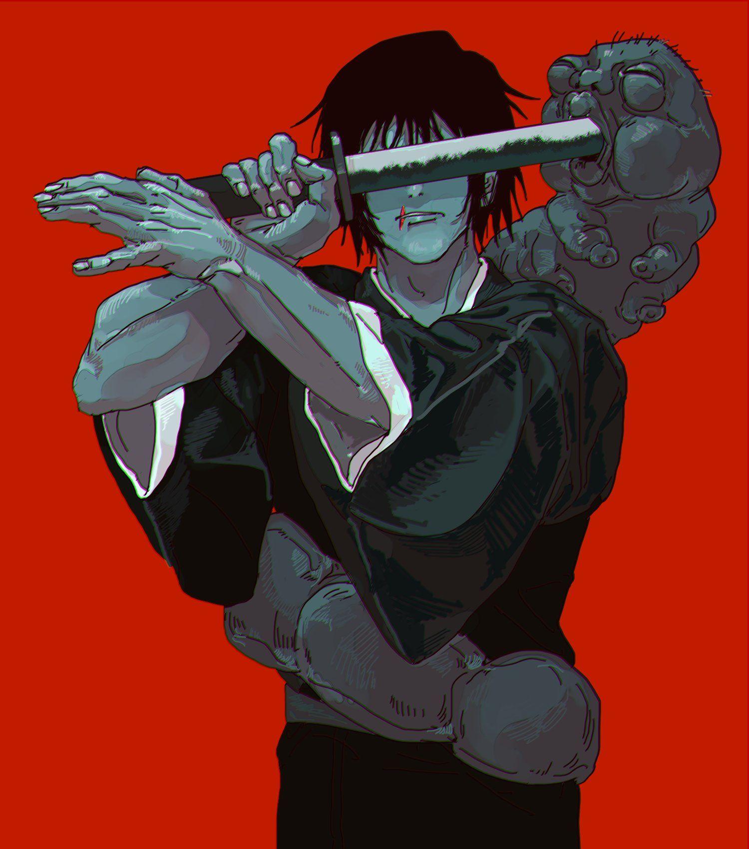 黴 on twitter anime jujutsu anime guys