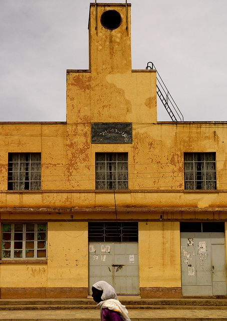 Old italian Art Deco factory,...