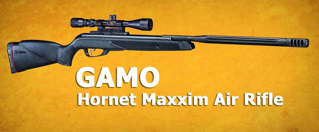 The Gamo Hornet Maxxim pellet rifle features the IGT (Intert Gas