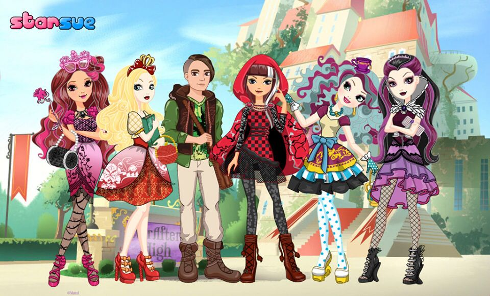 Happily Ever After High Characters | ever after high ...
