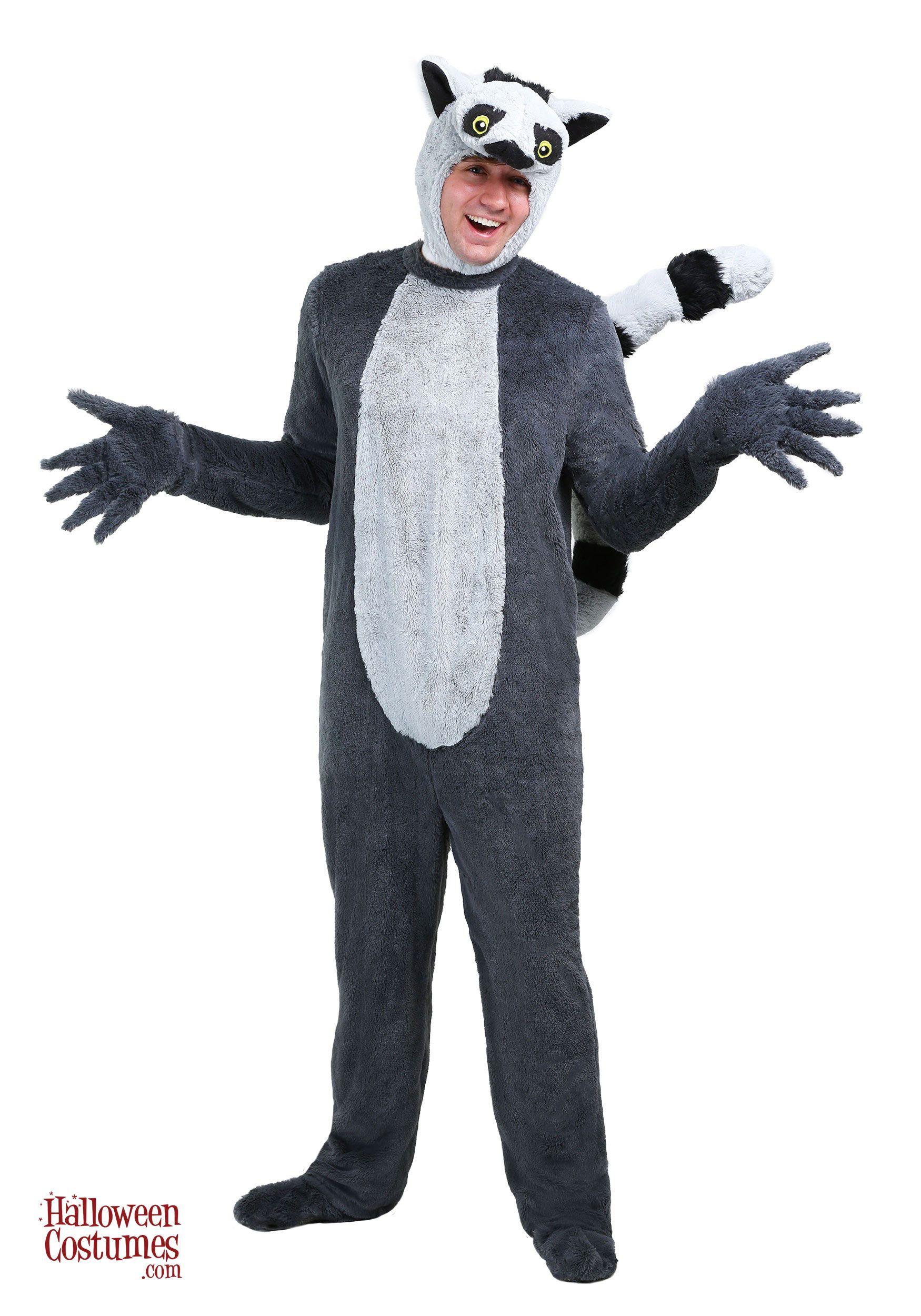Lemur Adult Costume - Exclusive | Adult costumes, Adult ... - photo#16