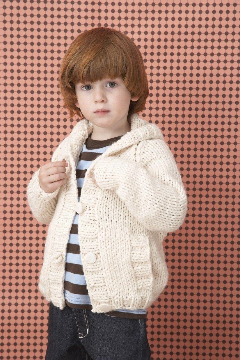52e09cd0f427 Knit Childs Raglan Cardigan Pattern (Knit)