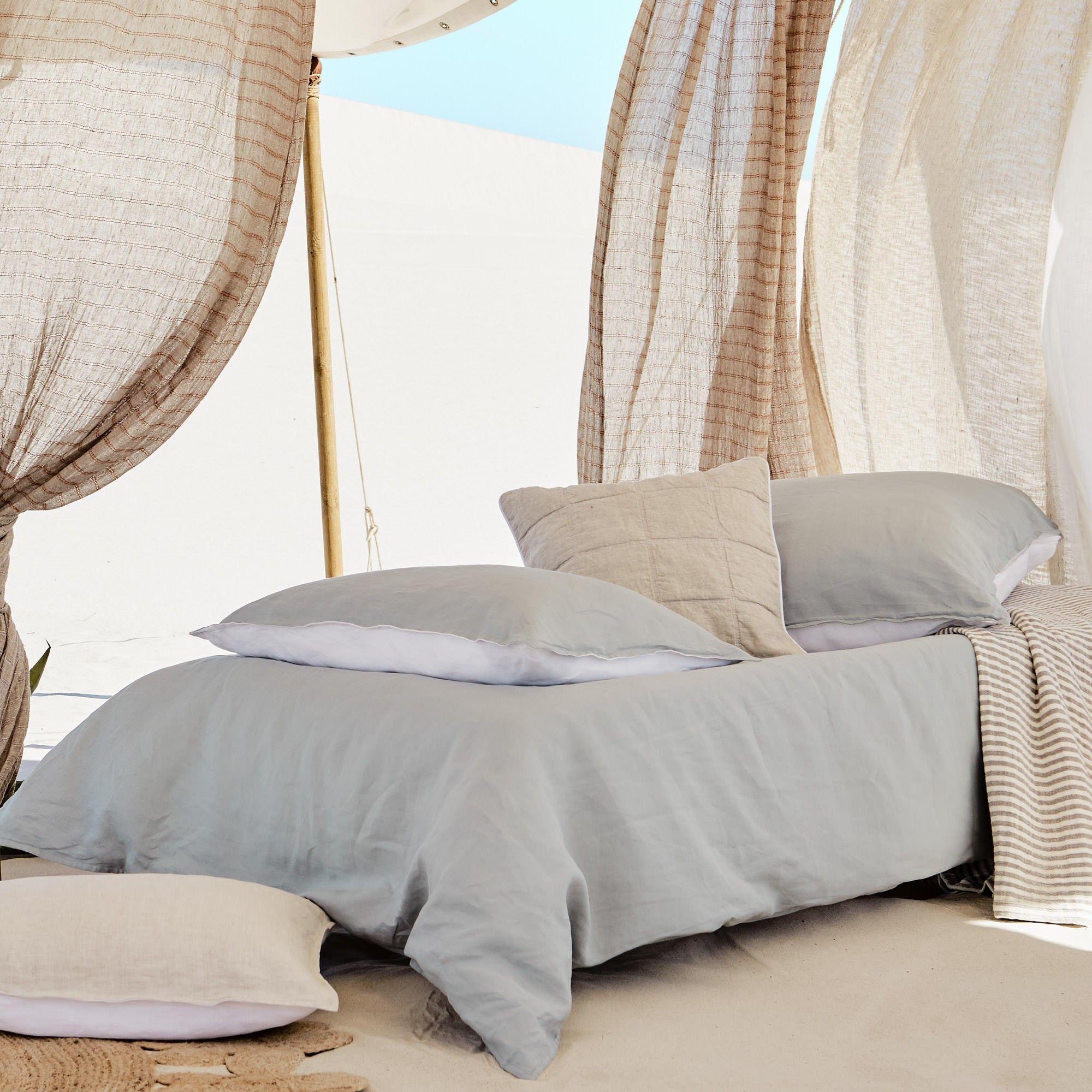Leinen Bettwasche Cercosa Bettwasche Leinenbettwasche