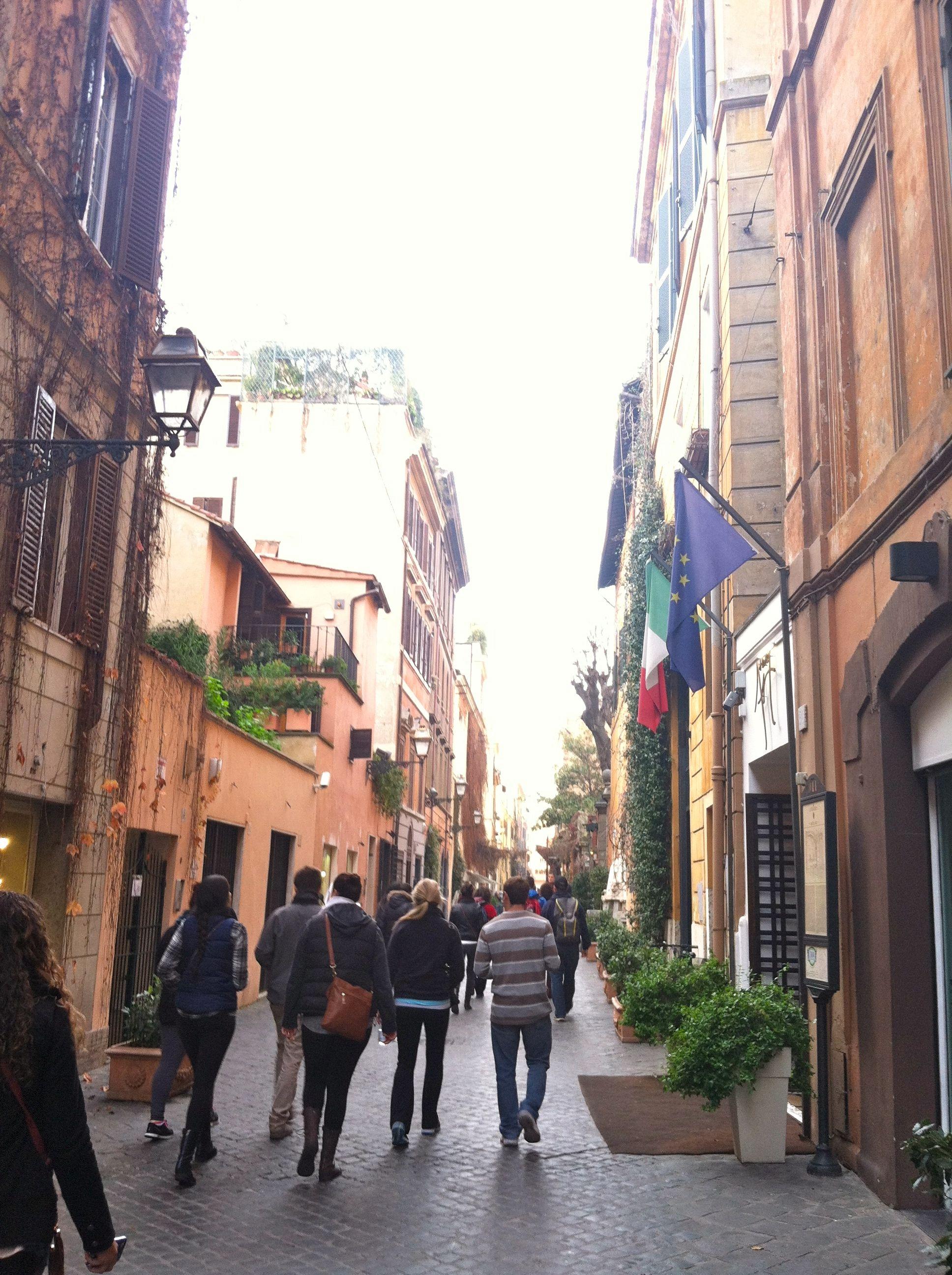 Roaming through Roma