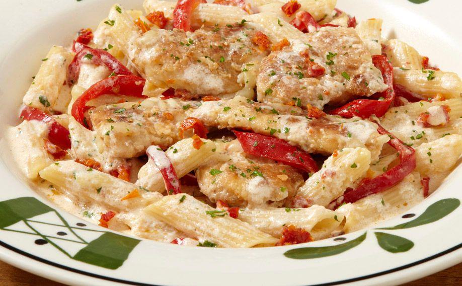 Smoked Mozzarella Chicken - Olive Garden | Chicken dinner ...