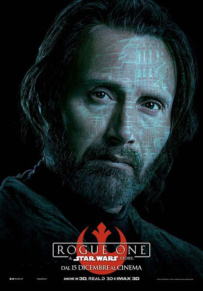 24x36 Mikkelsen v3 - Felicity Jones Rogue One A Star Wars Story Movie Poster