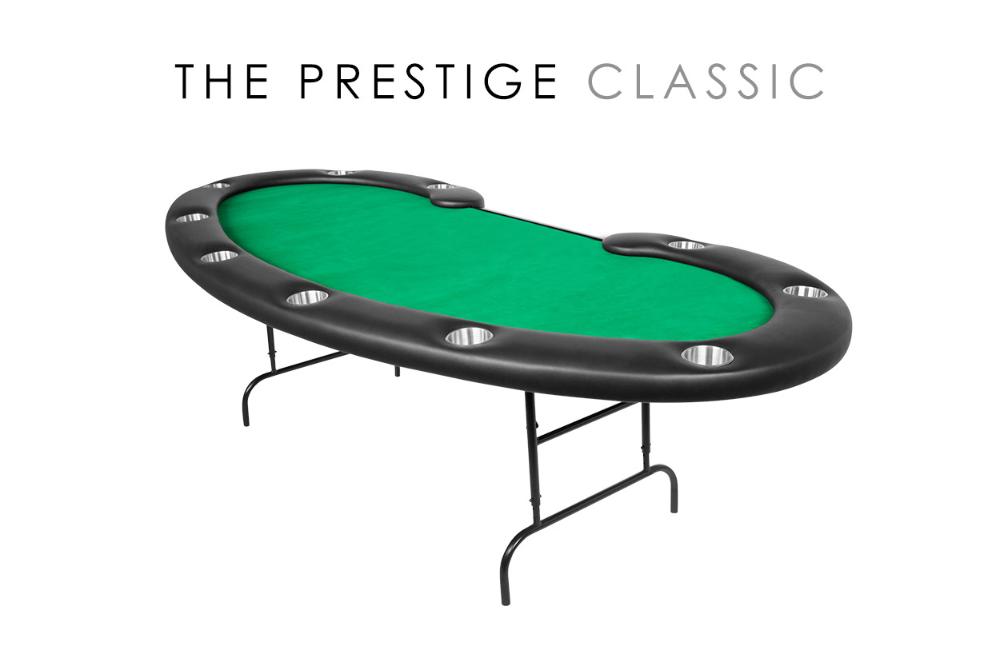 Presige Folding Leg Poker Table From Bbo In 2020 Poker Table Folding Poker Table Poker