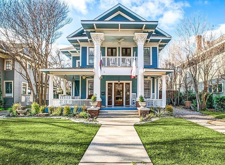 Historical Homes On Instagram Dallas Texas 1913 For Sale 620 000 3 Bed 3 Bath 2 684sqft