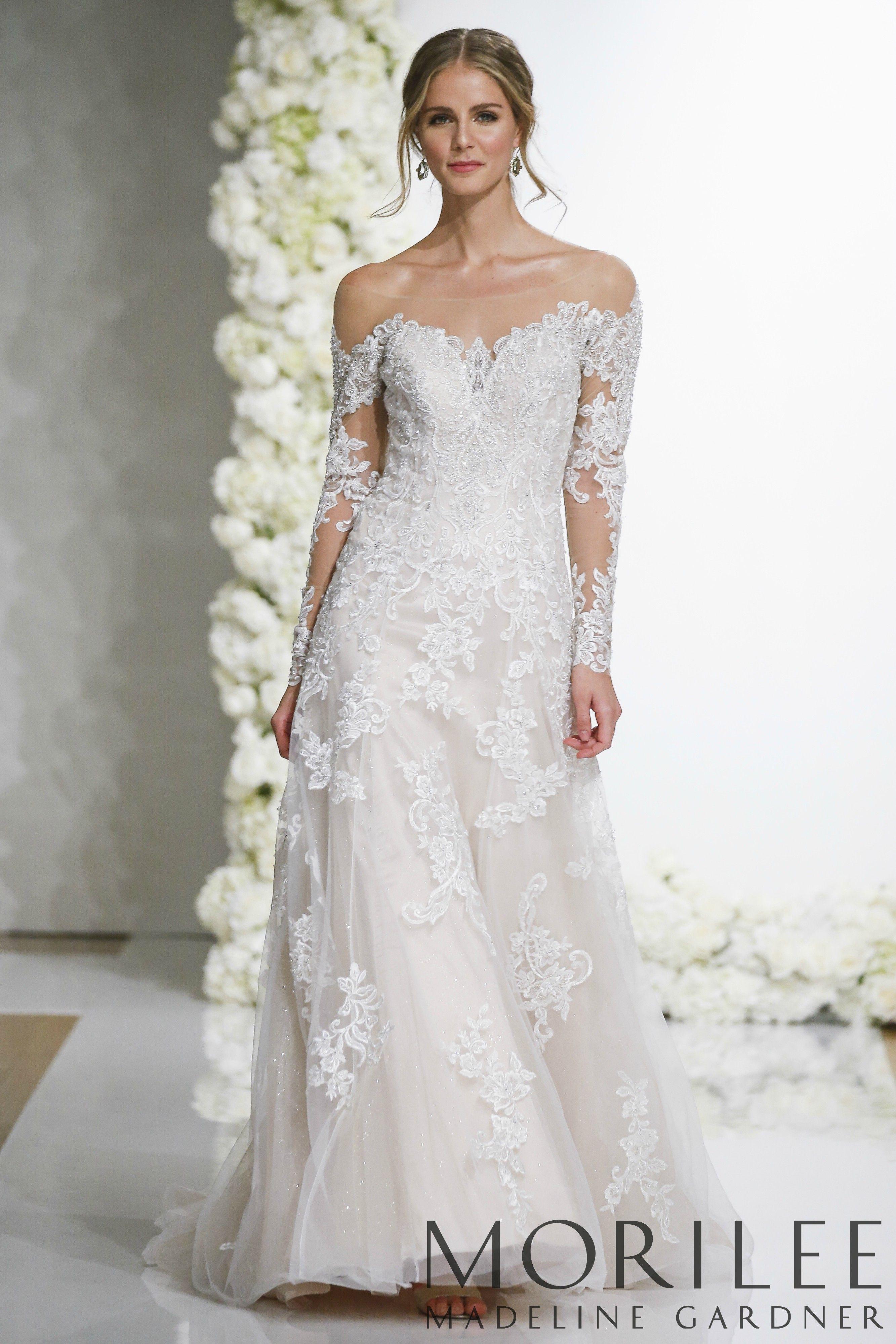 Leighton Wedding Dress Morilee Wedding Dress Long Sleeve Elegant Wedding Dress Wedding Dresses Lace