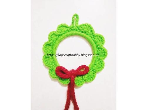 Photo of Easy DIY Crochet Wreath Ornament