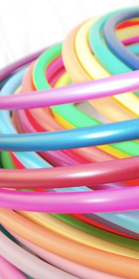 Is It Just Me Or Do These Polypro Hula Hoops Just Look Incredibly Edible Hulahoop Flowarts Colorful Hoopsupplies Circus Hoops Flow Arts Color