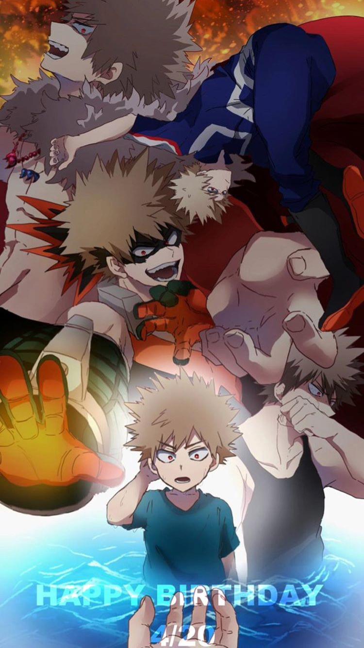 Happy Birthday Bakugo Bakugou Anime Imagens Aleatorias