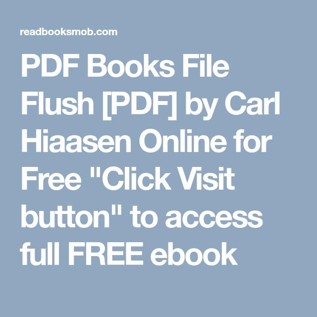 Pdf books file flush pdf by carl hiaasen online for free click pdf books file flush pdf by carl hiaasen online for free click visit fandeluxe Image collections