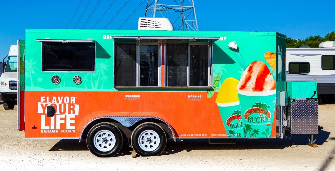 8a62d7ae69 Bahama Bucks Food Truck built by Cruising Kitchens the largest mobile  business manufacturer in the world! Food Truck - Mobile Business - Build a  Food Truck ...