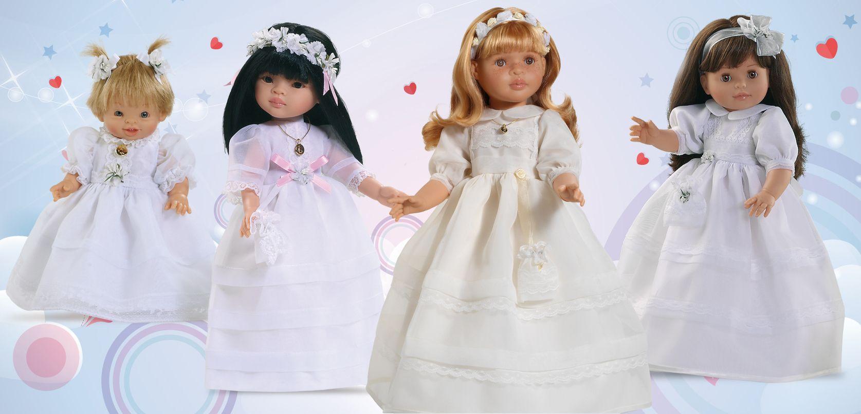 Colecciones muñecas Paola Reina de Comunión