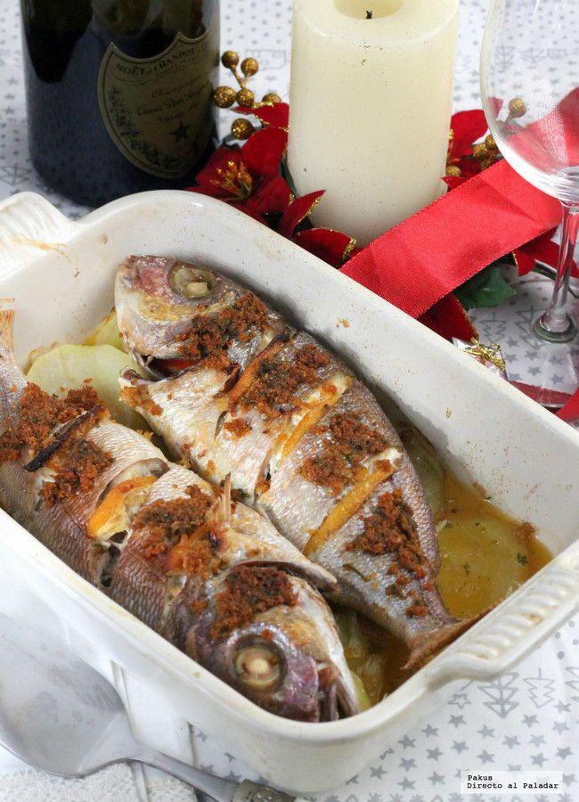 Besugo Al Horno Con Patatas Panadera La Receta Tradicional Navideña