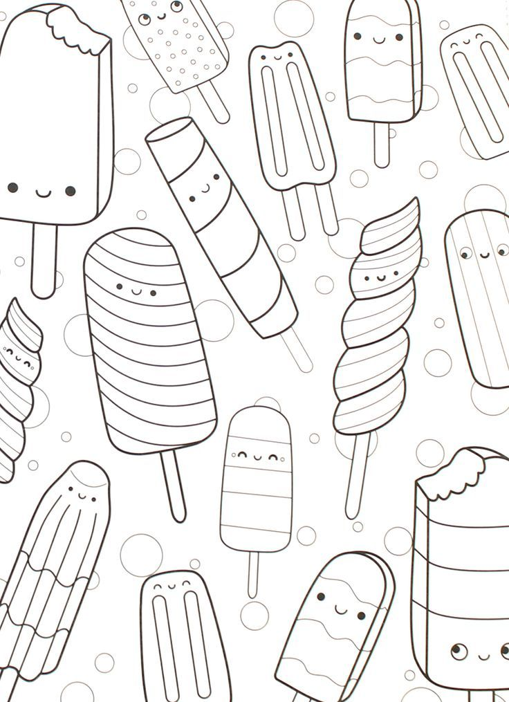 32 page happy snacks spiral perforated coloring book one sided pages adult kids coloring book pages x optional crayons unique gift