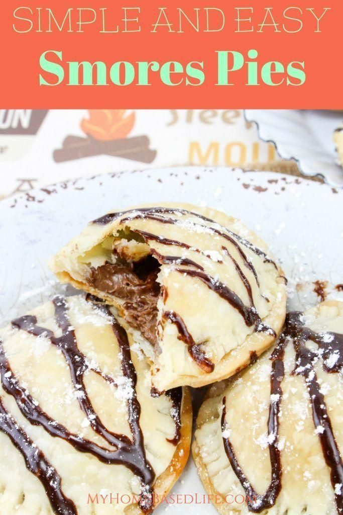 Mini smores pies are easy to make and perfect for summertime with little mess. I... - Blogger Pins