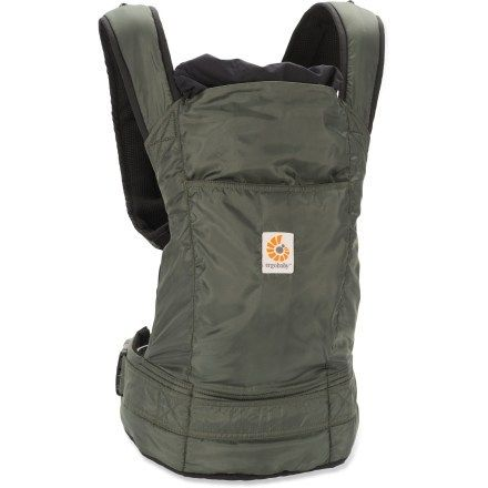 b9527077382 ERGObaby Stowaway Baby Carrier-it packs into it s own little pouch ...