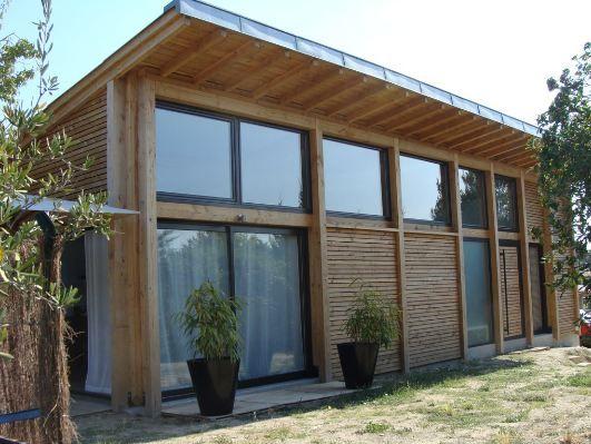 maison a pignon contemporaine - Recherche Google   house maison inspiration extérieur intérieur ...