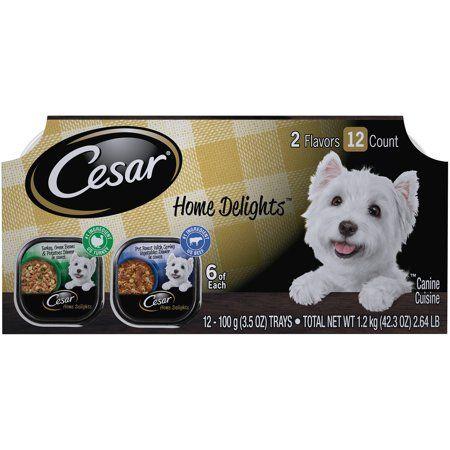 Cesar Home Delights Wet Dog Food Turkey Green Beans Potatoes