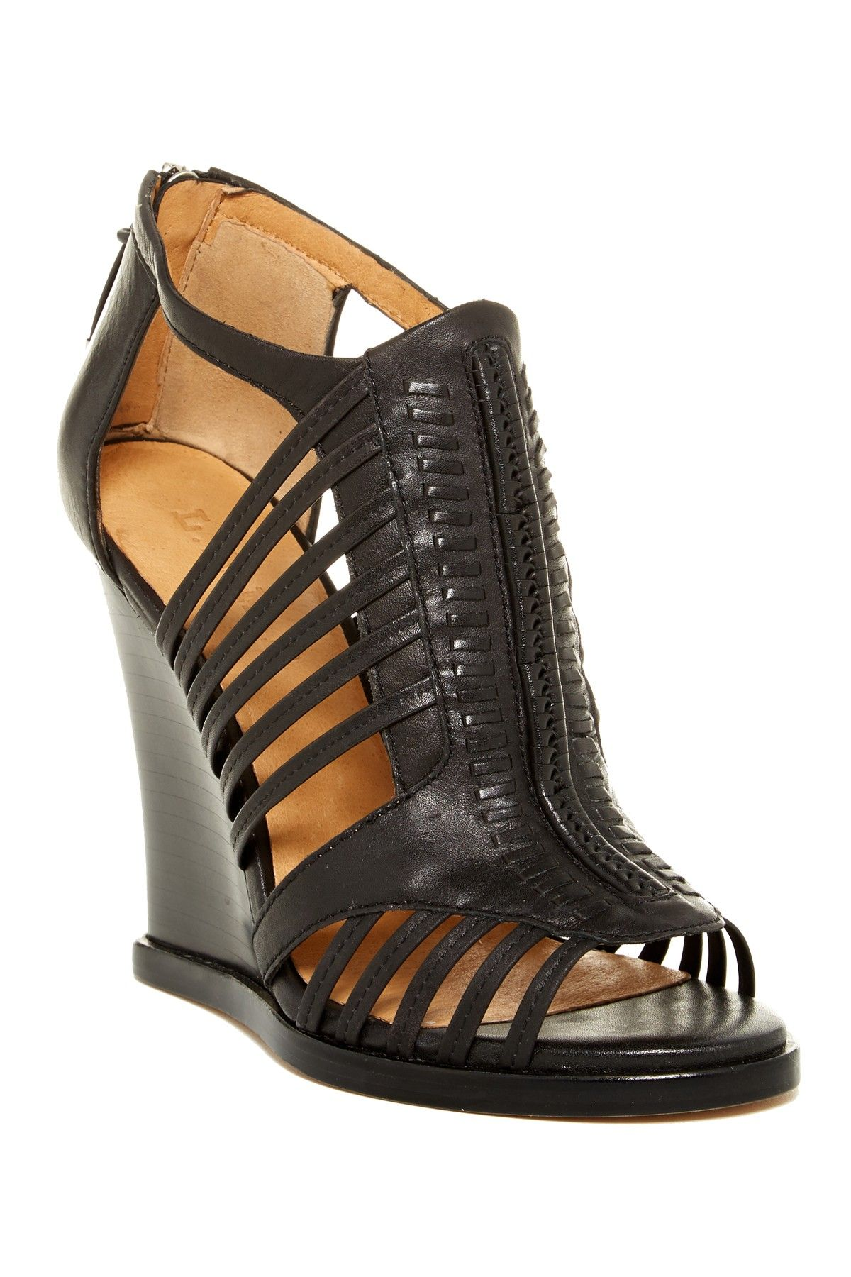 907fe683cc87 Kaylee Wedge Sandal by L.A.M.B. on  nordstrom rack Of course I had to buy  them!
