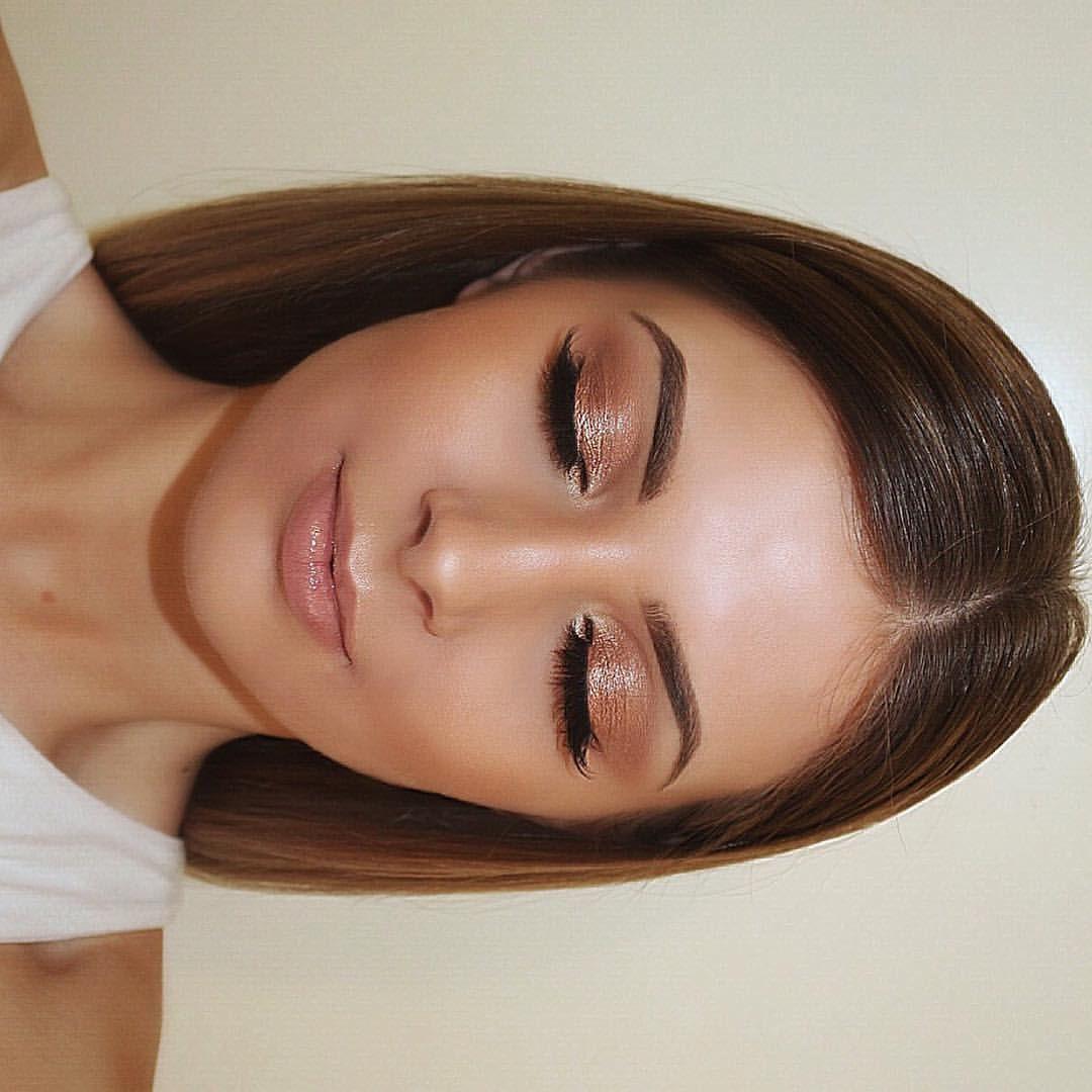 Wedding Makeup Bridal Gold Eyeshadow Bronze Natural