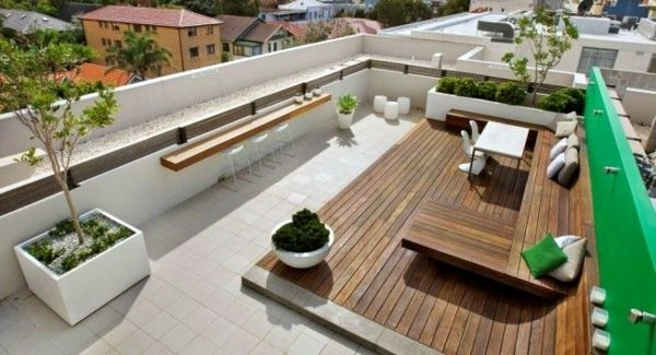 We Love The Curves U0026 Colour Of This Funky Rooftop Landscape Design In Bondi  Beach. This Fantastic Outdoor Space Was Created B