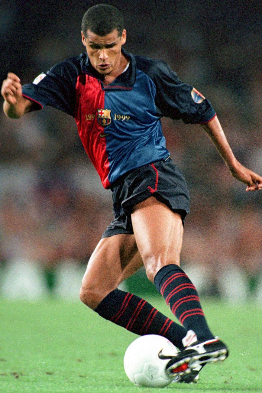 Rivaldo no Barcelona em 1999 Football Pinterest