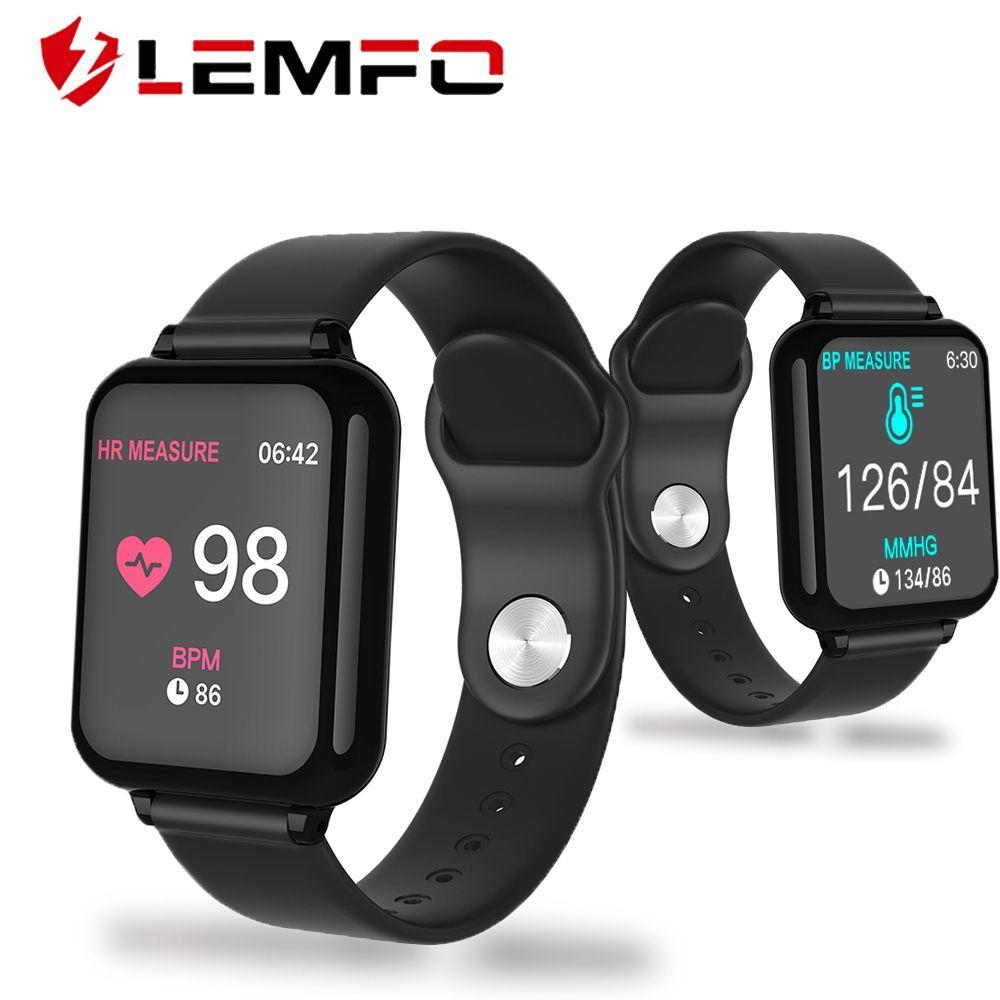 Lemfo B57 Smart Watch Ip67 Waterproof Heart Rate Music Control Fitness Smartwatch Men Women Smart Bracelet Android Ios Watch Uniglobesmartgadgets Smart Watches Men Smart Watch Smart Bracelet