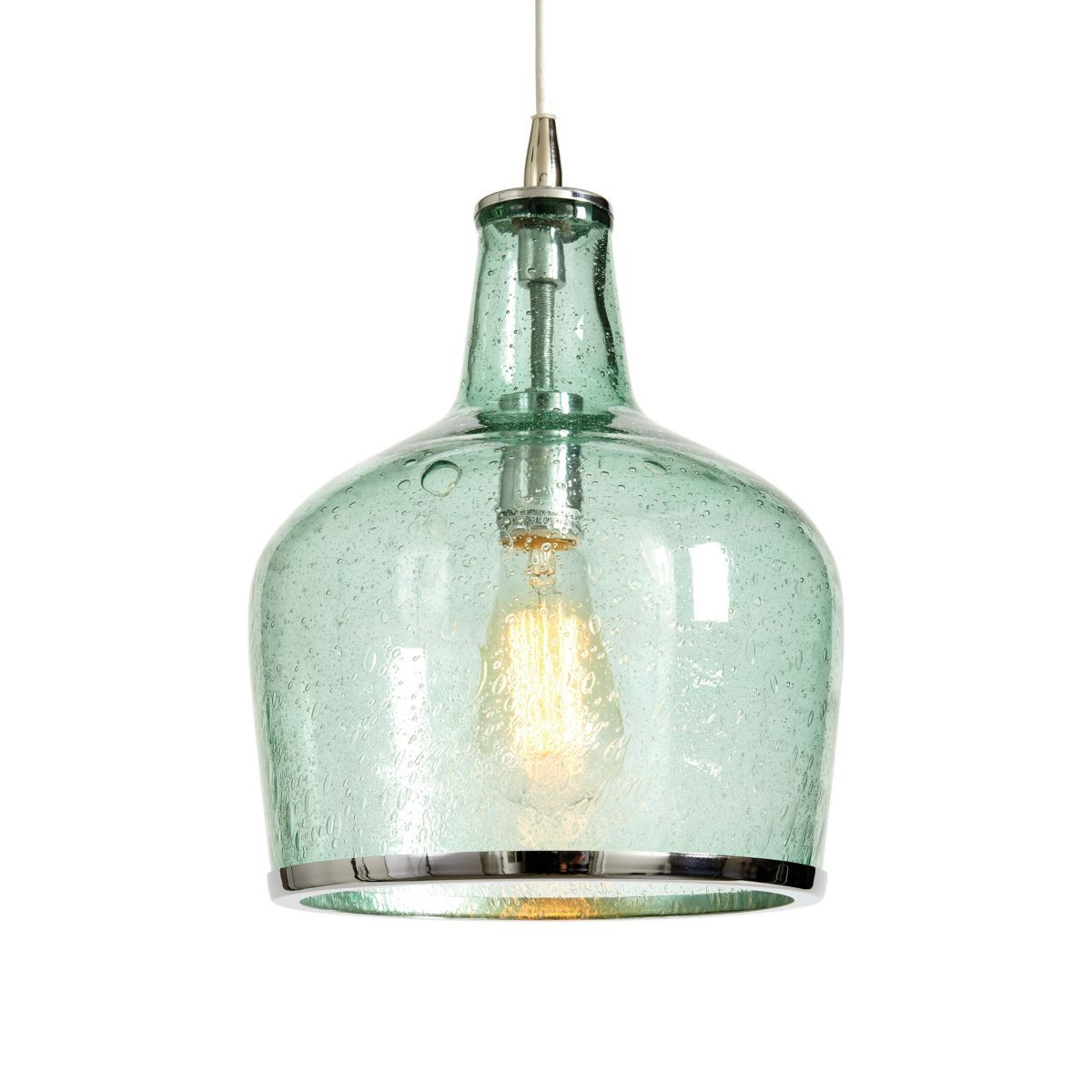 "Pendant Light Over Kitchen Sink: Addie Pendant Ballard 12x9 $189 Dimensions: Overall: 12""H"