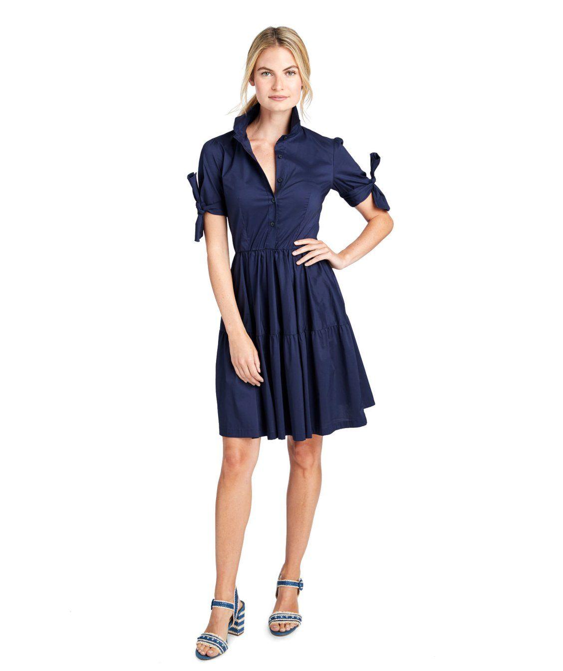 Tie Sleeve Shirt Dress Dresses Dress Shirt Sleeves T Dress [ 1343 x 1128 Pixel ]