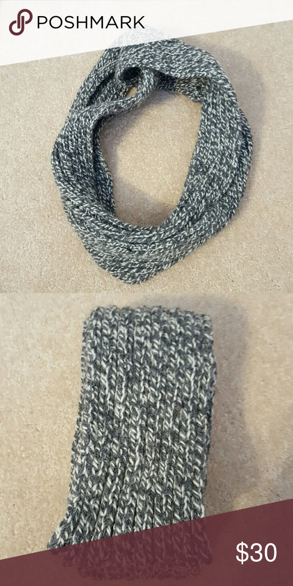Cable Knit Wool Infinity Scarf 60 inches circumference  This item is Available!  Condition: New  My Condition Key: New: Never Worn & No Flaws Like New: Hardly Worn & No Flaws Good: Worn Multiple Times & No Flaws Fair: Worn Multiple Times & Has a Flaw Bad: I Don't Sell Anything in Bad Condition!  Please Make Offers I Do Not Do Trades I Can Hold I Will Model if requested Ask if you Need Measurments I Ship Same Day or Next Day I Send all items in Priorty Mail Boxes Accessories Scarves & Wraps