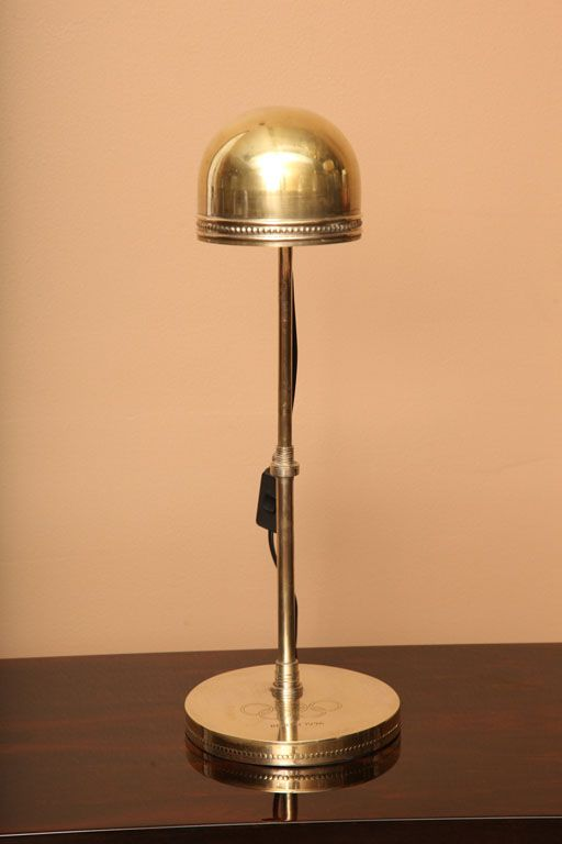 Commemorative Table Lamp from the 1936 Olympics