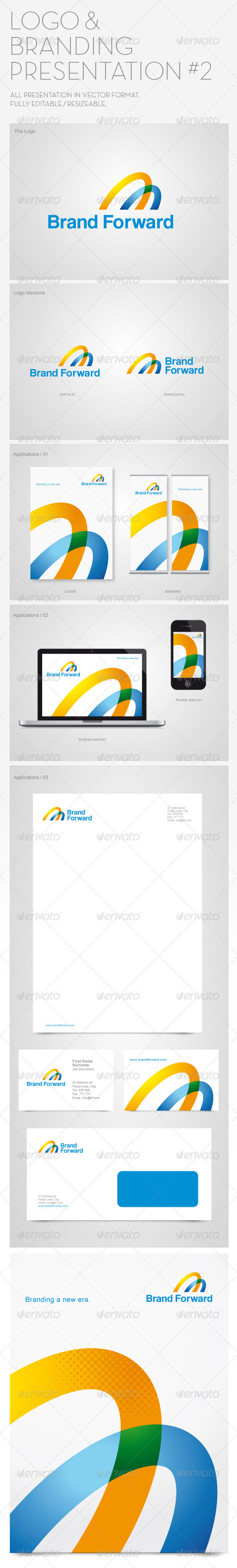 logo & branding presentation #2 #graphicriver logo template, Powerpoint templates