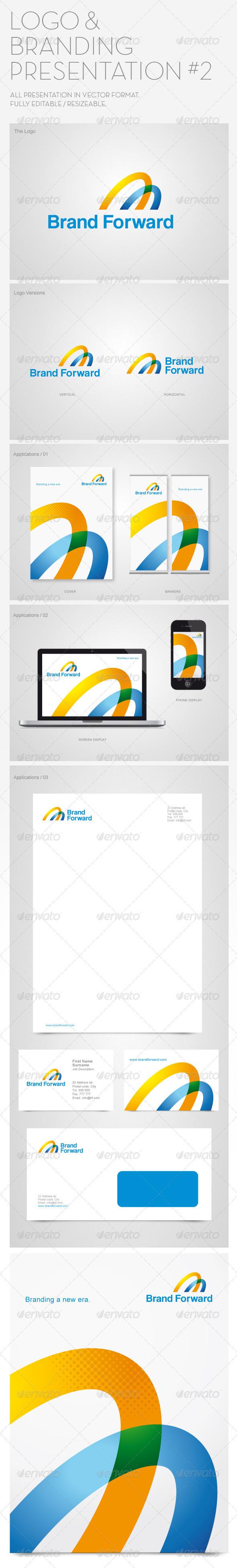 logo & branding presentation #2 #graphicriver logo template, Powerpoint templates