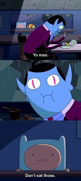 Finn And Marceline S Father Funny Pics Adventure Time