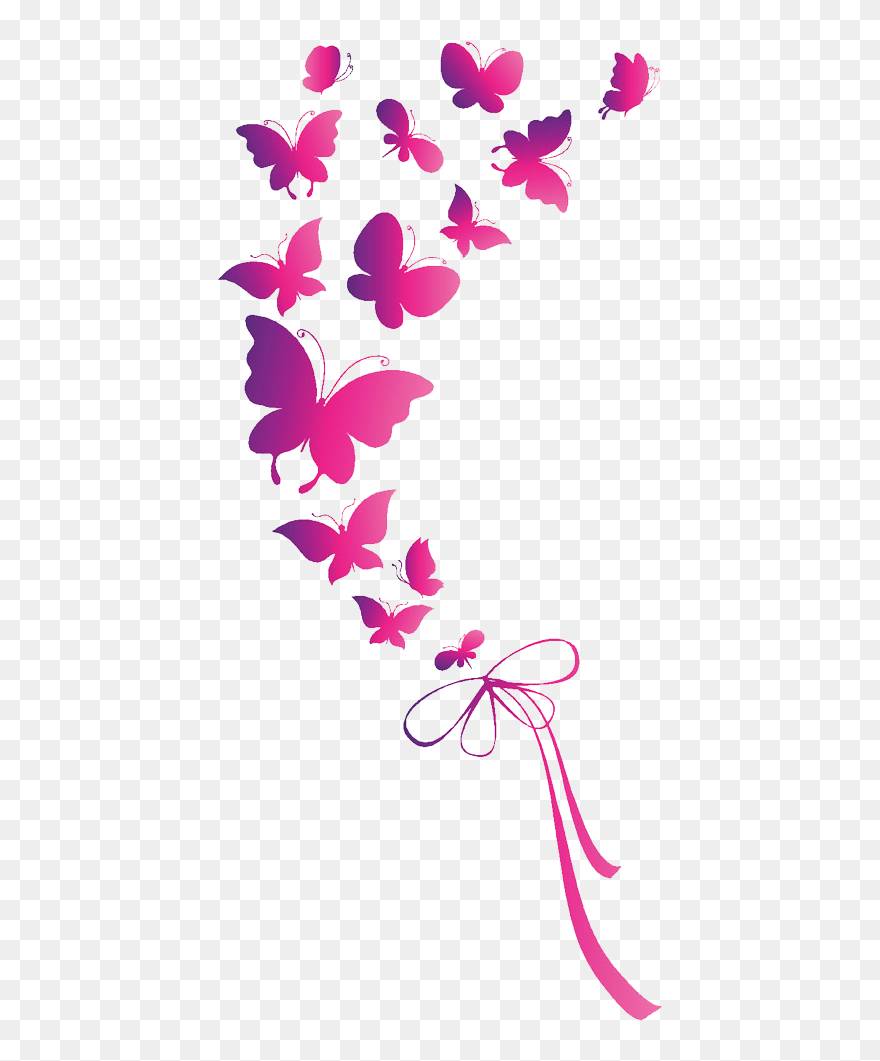 Download Hd Butterfly Euclidean Vector Clip Art Pink Butterfly Png Hd Transparent Png And Use The Free Clipart For Your In 2021 Pink Butterfly Free Clip Art Clip Art