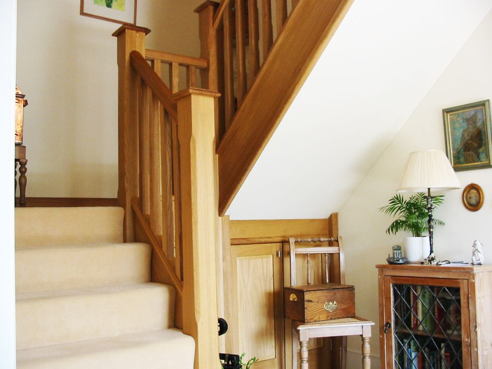 stair spindles and banisters | Oak banister, Banisters ...