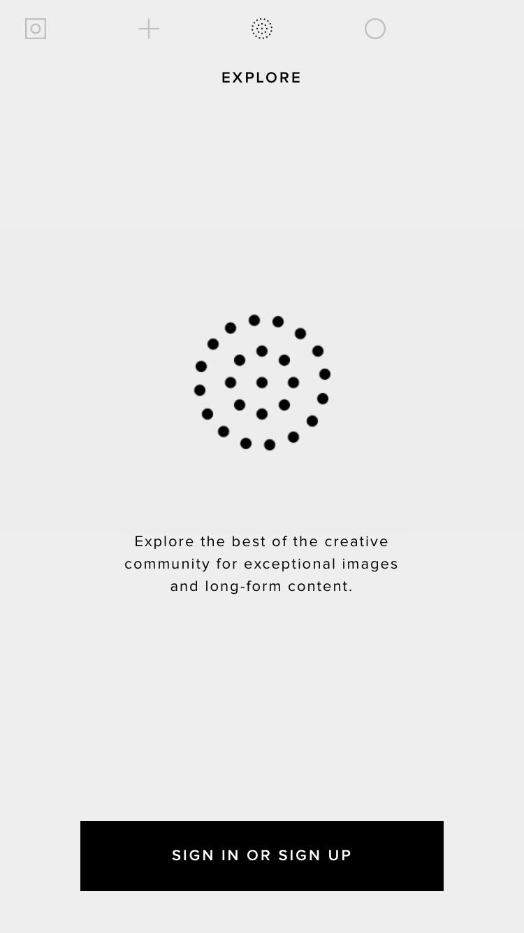 VSCO Walkthrough on iOS #ui #inspiration #interface #ios #design