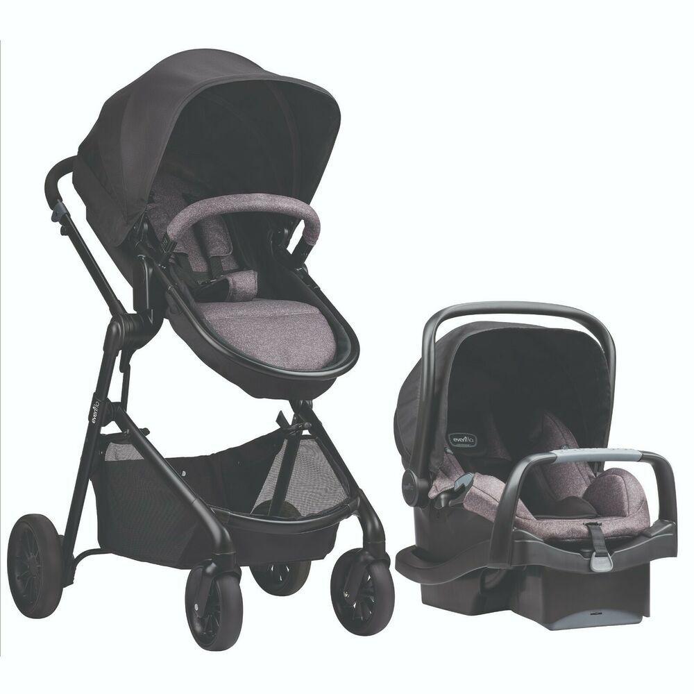 Evenflo Pivot Modular Travel System w/Safemax Infant Car