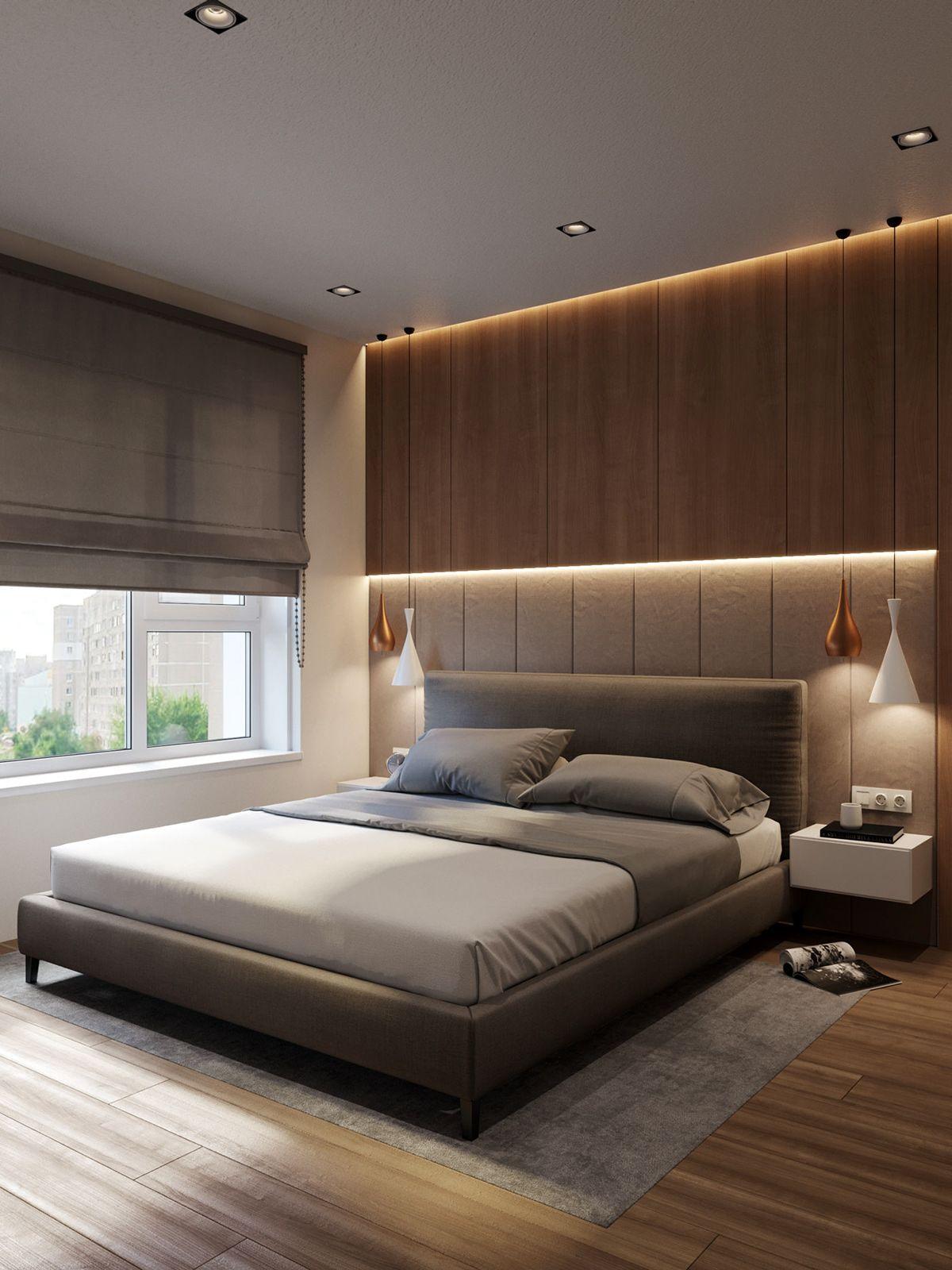 Wood And Stone On Behance Bedroom Bed Design Bed Design Modern