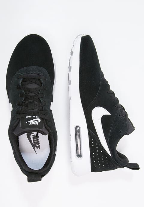 nike sportswear air max tavas - baskets basses - black/white