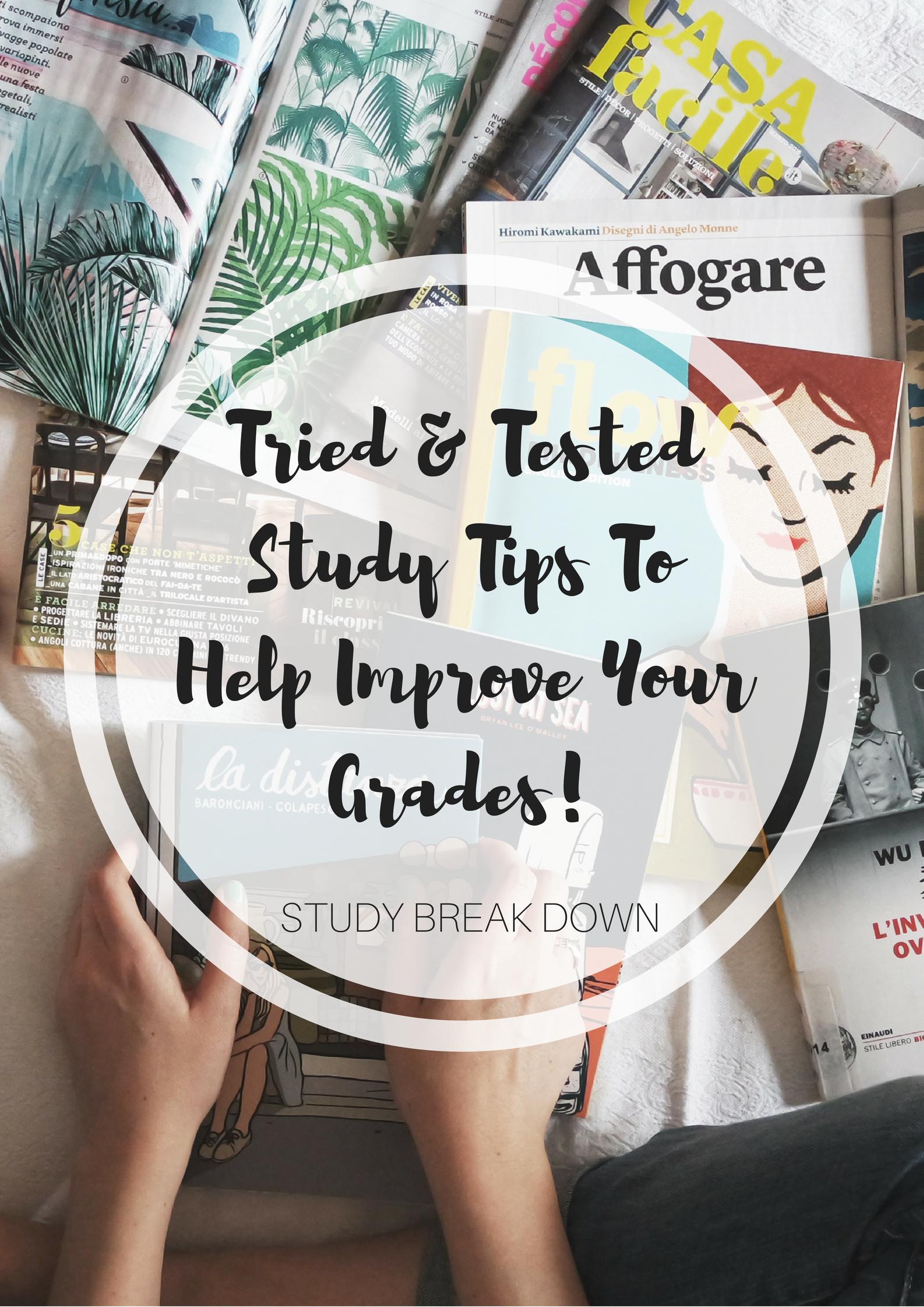 Posizione Divano E Tv study tips to help you improve your grades   study tips