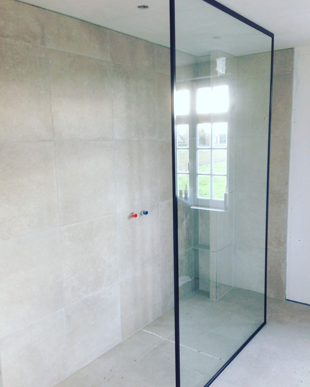 Douche badkamer wand in glas | Glas | Pinterest | Glas