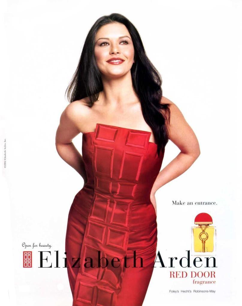 Red Door Perfume By Elizabeth Arden Featuring Catherine Zeta Jones